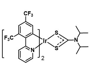 Formula: C33H26N3F12S2Ir